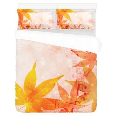 Maple Leaf Bedding Set
