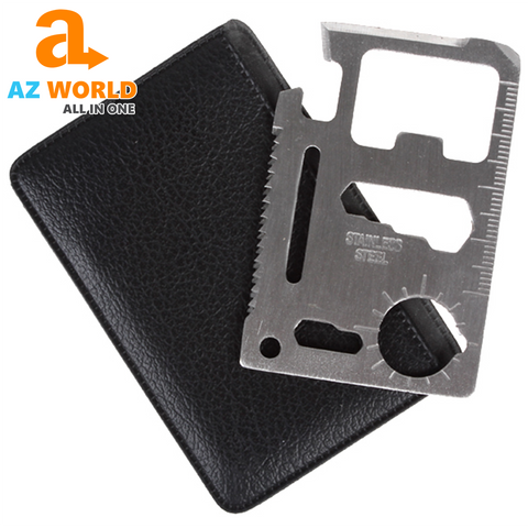 Image of Multifunction Credit Card Camping Tool - TK