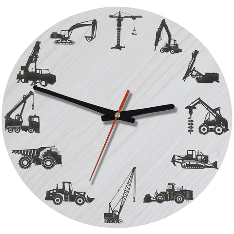 Image of Heavy Wooden Wall Clock