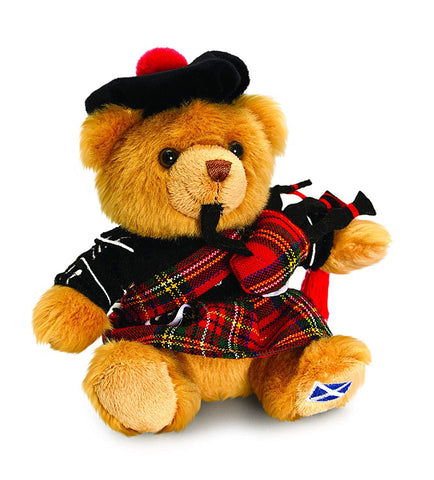 Image of Cute Scottish Bear With Bagpipes  - Y7