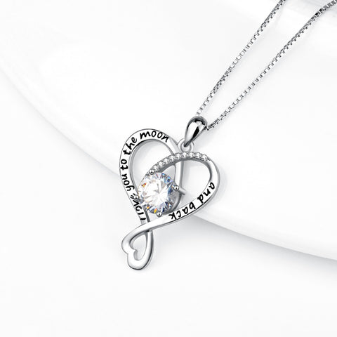 I Love You To The Moon And Back Necklaces - Y7