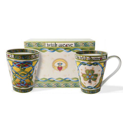 Irish Cup & Mug Set with Gift Box - Y7