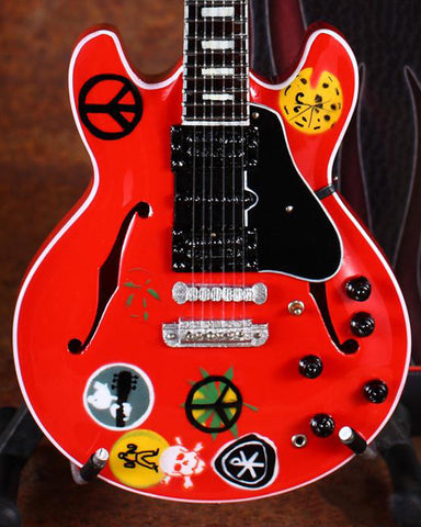 Image of Alvin Lee Miniature Guitar Replica Collectible