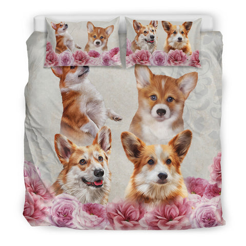 AZ World Gorgeous Corgi Bedding Set