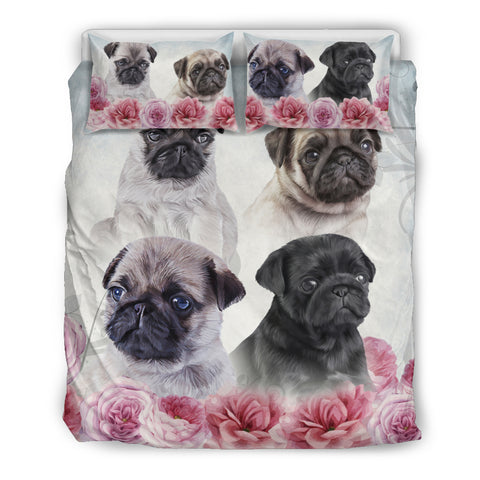 AZ World Gorgeous Pug Bedding Set