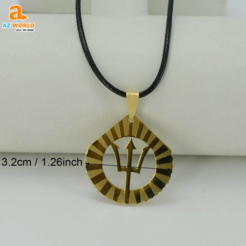 Image of TRIDENT, pendant necklace, necklaces, necklace, Barbados, Az World Store