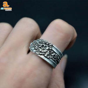 Blossom Spoon Ring - M2