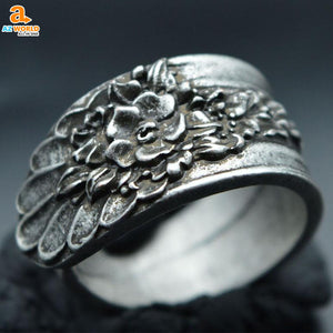 spoon ring rings ring jewelry Blossom Spoon Ring Az World Store