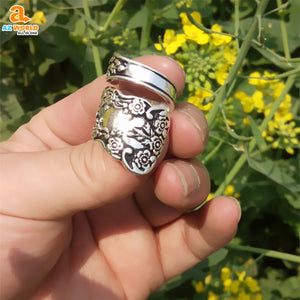 Buttercup Spoon Ring - M2