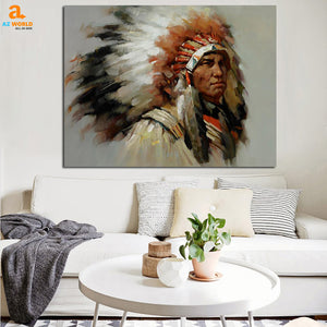 Native American Canvas - N1