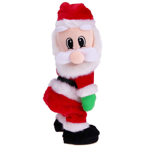 Image of Funny Twisted Hip, Singing and Dancing Santa Toy - Y7