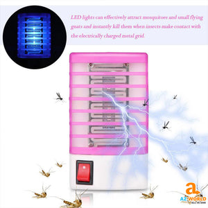 PEST Mosquito led lamp killer INSECT Home & Garden fly trap fly killer fly Electric Insect Trap LED Lamp electric device bee Az World Store