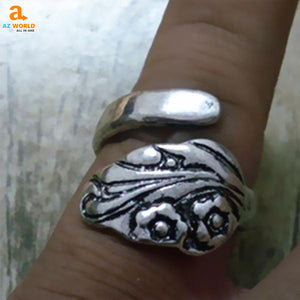 Flower Spoon Ring 03 - M2