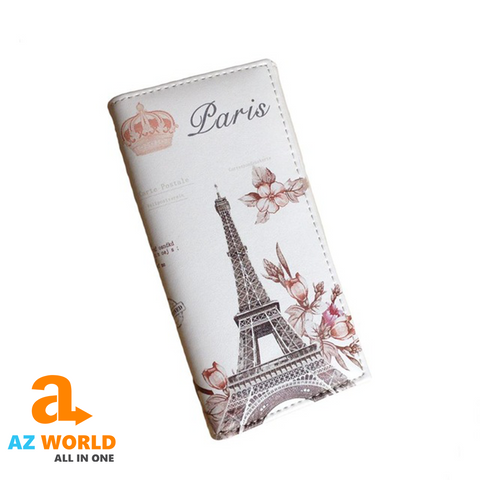 Image of Eiffel Tower Leather Wallets - TK