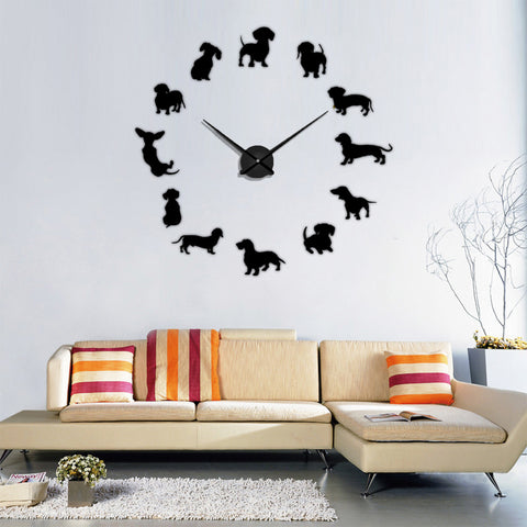 DACHSHUND DIY Wall Clocks - Special Product