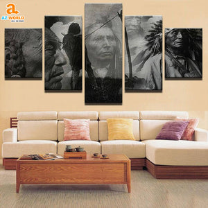 wall art, native american, home decor, Canvas Wall Art, Az World Store