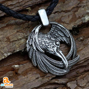 Odin Raven Necklace - M2