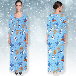 AZWorld-FunnyShark™ Dresses - Special Limited Christmas Edition