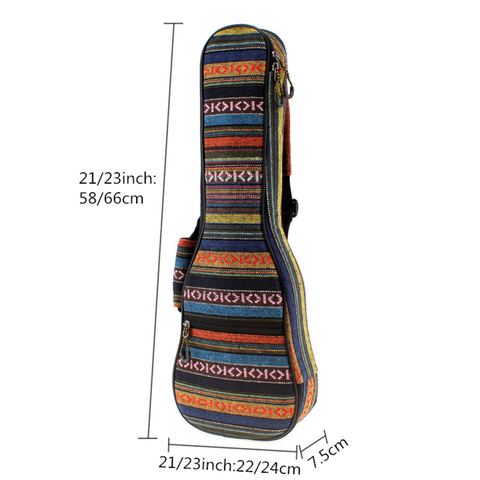 Image of AZ Store Hawaii Ukulele Guitar Gig Bag - Y7