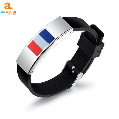 WORLD CUP, WORLD CUP 2018, SOCCER, FOOTBALL, FRANCE, FRENCH, BRACELET, BRACELETS. BANGLE. BANGLES. JEWELRY, PENDANT