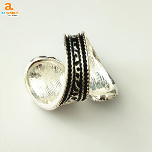 Snake Skin Spoon Ring - M2