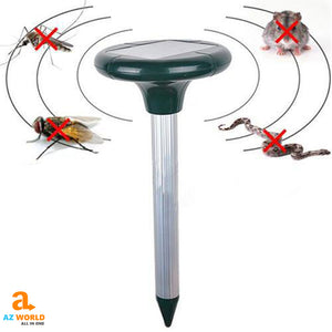 Solar-Powered Ultrasonic Pest Repeller - M2
