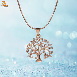 Celtic Tree Of Life Pendant Necklace - M2