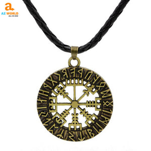 Viking Elder Futhark Rune Pendant Necklace - M2
