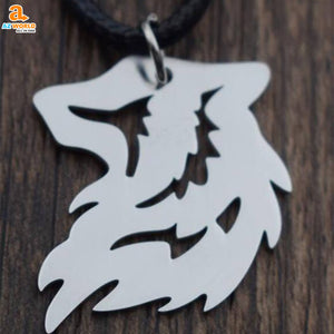 Viking Wolf Necklace - M2