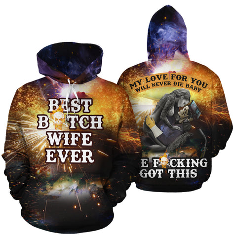Image of Best Welder Couple Hoodies - Y7