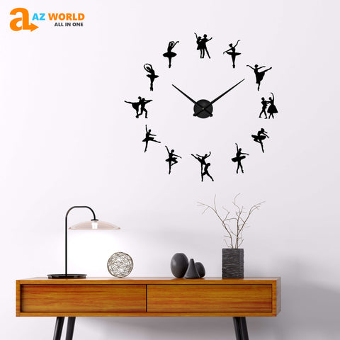 Image of BALLET DIY wall Clocks - Special Product