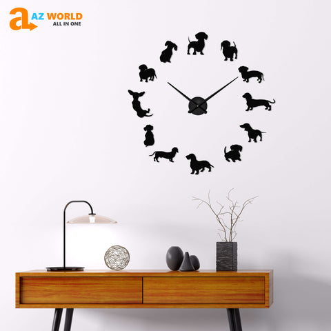 Image of DACHSHUND DIY Wall Clocks - Special Product