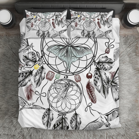 Ethnic Dreamcatcher Butterflies Bedding Set T4