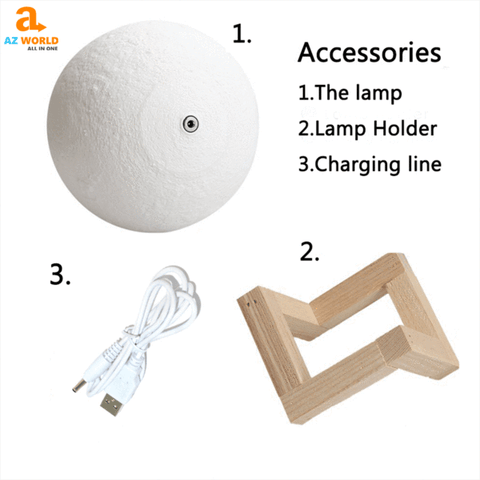 Image of akito, Az World Store, bedroom, for bedroom, Home & Garden, home accessories, home decor, home decoration, HOME DECORS, Moon Lamp, Moon Lamps, NEW ZEALAND, New Zealand It's Where Story Begin Moon Lamp, NEW ZEALANDER
