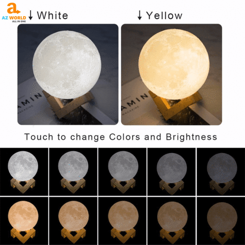 women necklaces necklace Moon Lamp jewelry home accessories gift for bedroom collection nghia bedroom Az World Store australian akito