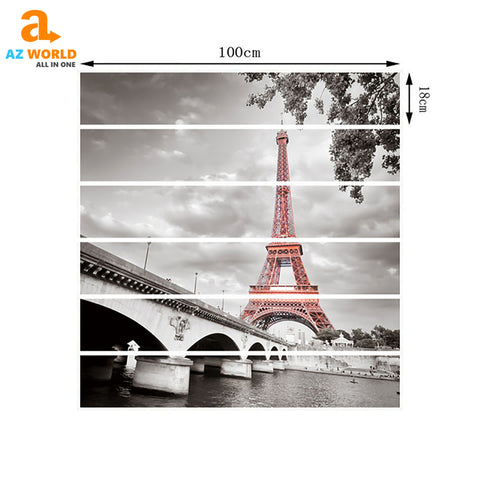 Image of Eiffel Tower Stairway Stickers - K