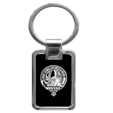 Campbell (Argyll) Clan Stainless Steel Key Ring - Y7