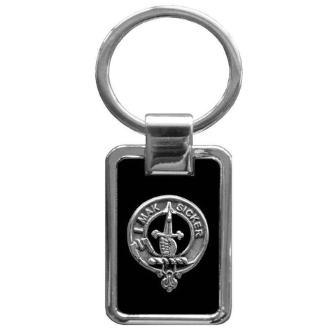 Kirkpatrick Clan Stainless Steel Key Ring - Y7