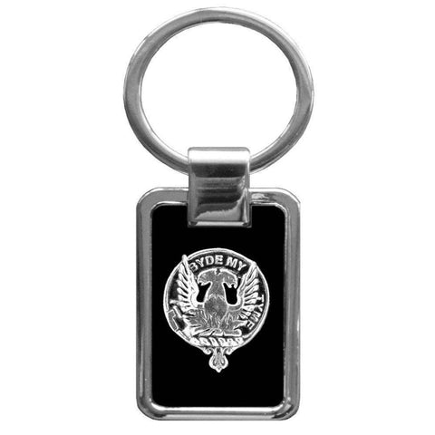 Campbell (Loudoun) Clan Stainless Steel Key Ring - Y7