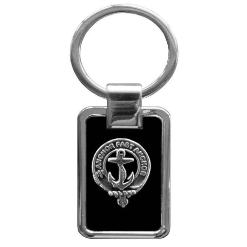 Gray Clan Stainless Steel Key Ring - Y7
