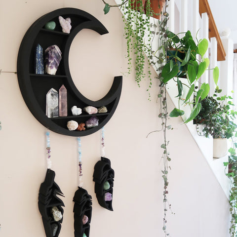 Dreamcatcher Moon Shelf TH10