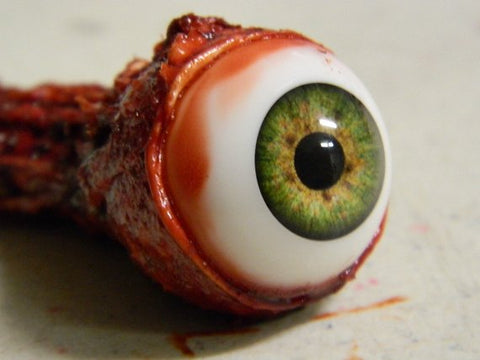 Image of (Only available in USA) Halloween Prop - Realistic Human Ripped Out Eyeball - HANDMADE ITEM