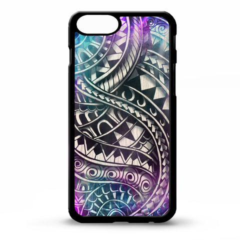Polynesian Samoa Tattoo Pattern Phone Case - Y7