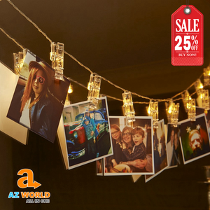 10 LED Photo Clip String Lights - TU