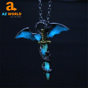 Dragon Sword Necklace - M2