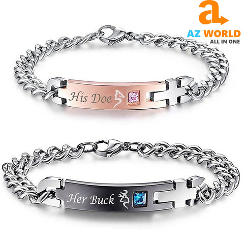 Image of Couple Bracelets Valentine - M