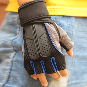 Fitness Weight Lifting Gym Gloves - T