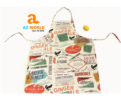 Image of Graffiti Style Cooking Apron - M
