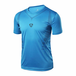 Men Quick Dry Wicking Running T-shirts - T