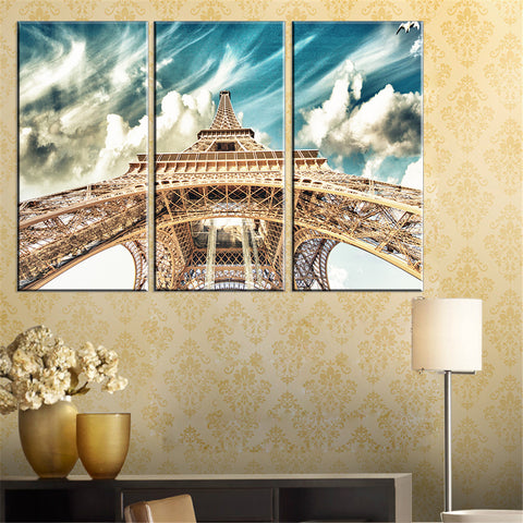 Image of Eiffel Tower Canvas Home Decoration - TU